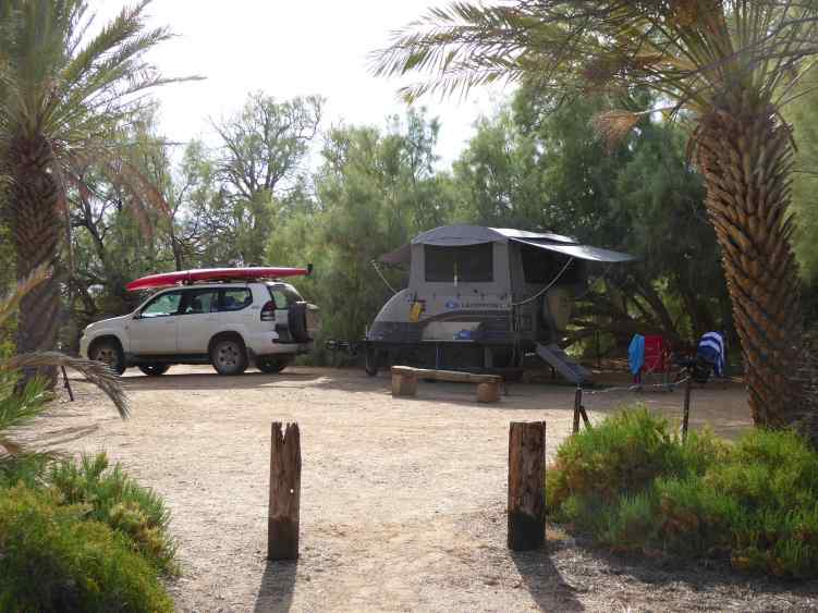 Campsite, Coward Springs.