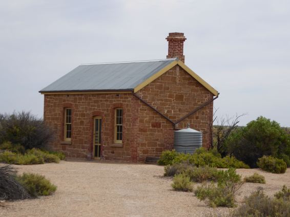 Coward Springs museum; the Old Ghan railway accomodation block.